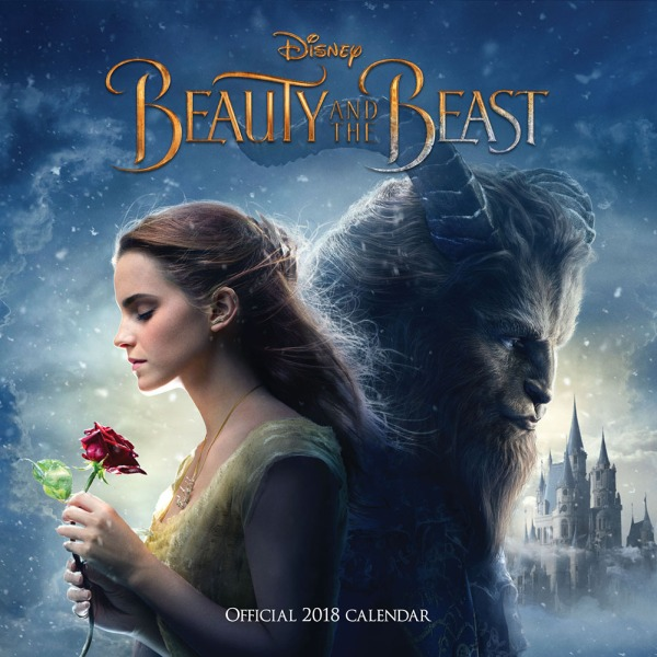 Beauty And The Beast 12x12 Calendar 2018 (1)